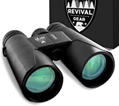 Powerful Compact Binoculars: Tactical & Durable Set That Everyone Finds Easy to Use. Includes Neck Strap & Travel Case. Used When Hiking, Bird Watching, Pro Sports Games, Concerts, Hunting