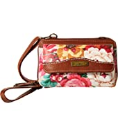 Flower Fair Cell Phone Wallet