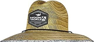 Hook'em Lifeguard   Fishing Stretch Fit   Straw Hat