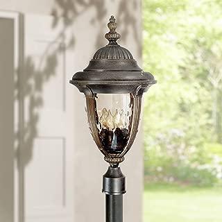 Bellagio Traditional Outdoor Light Post Fixture Veranda Bronze 24 1/2