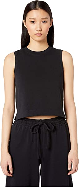 Cropped Shell Tank Top