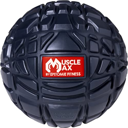 Muscle Max Massage Ball - Therapy Ball for Trigger Point Massage - Deep Tissue Massager for Myofascial Release - Mobi...