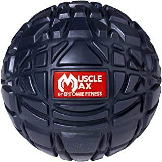 Muscle Max Massage Ball - Therapy Ball for Trigger Point Massage - Deep Tissue Massager for Myofascial Release - Mobility ...