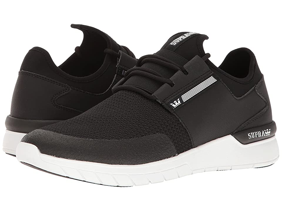 Supra Flow Run (Black/Black/White Multi Snake) Men
