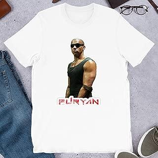 Riddick Furyan Pitch Black Vin Diesel Men Women Actor Actress Movie Cinema Gift for Men Women Girls Unisex T-Shirt