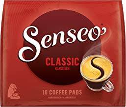 SENSEO Coffee Pods Classic Medium Roast, 160 Pods, 16 Count Pods (Pack of 10) for Senseo Coffee Makers, Hot Coffee, Cold Brew Coffee, Espresso