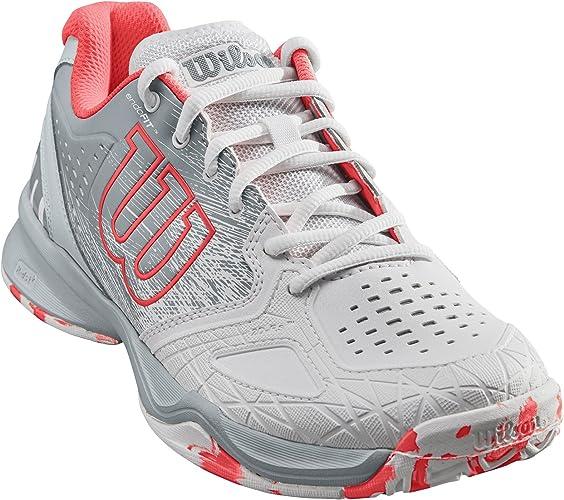 Wilson Femme Chaussures de Tennis, Idéal pour les joueuses offensives, Pour tout type de terrain, KAOS COMP W, Tissu Synthétique