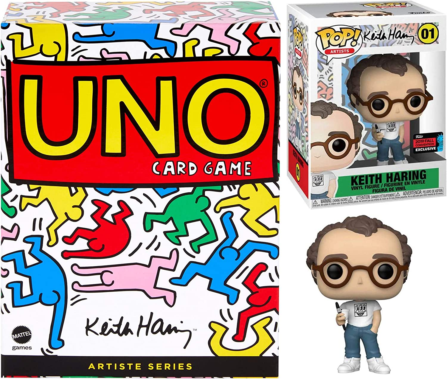 Artiste Pop Keith Haring Art Figure Series Exclusive Bundled wi Save money Easy-to-use