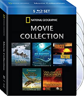 National Geographic Movie Collection: ( Wildest Weather / Flying Monsters / Sea Monsters / Lewis&Clark / Sea Monsters / Forces of Nature )