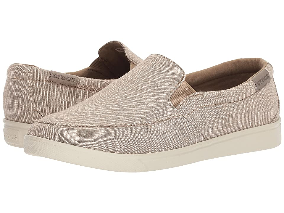 Crocs CitiLane Low Slip-On (Khaki) Women