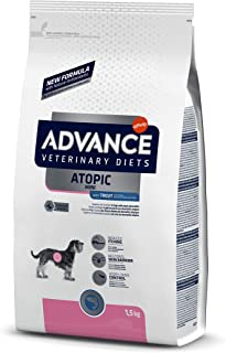 ADVANCE Veterinary Diets Atopic Care Mini - Pienso Para Perros Adultos Con Problemas Atópicos De Razas Pequeñas Con Trucha...