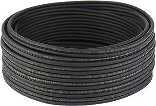 Bullz Audio BGES18.100 100' 18 Gauge AWG Car Home Audio Speaker Wire Cable Spool (Black)