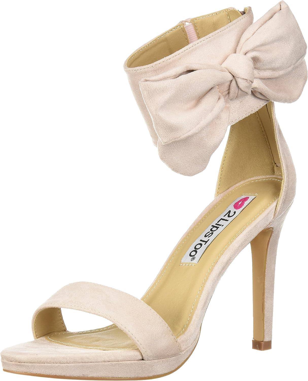2 Lips Too Women's Too Dawn Heeled Sandal