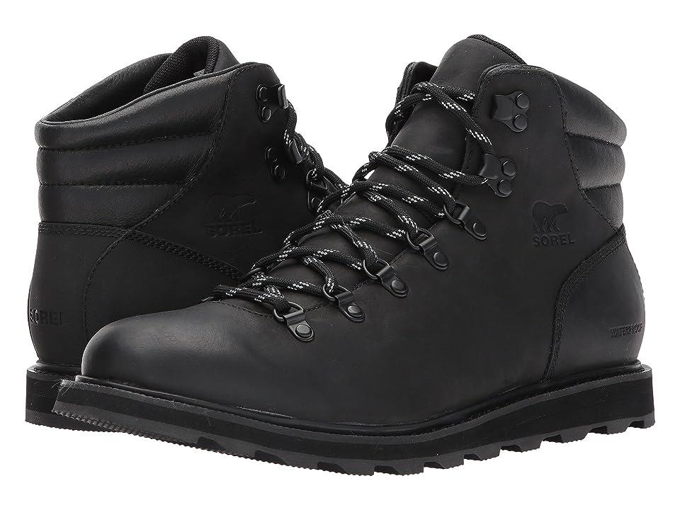 SOREL Madson Hiker Waterproof (Black) Men