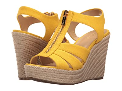 MICHAEL Michael Kors Berkley Wedge (Sunflower) Women