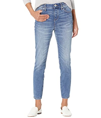 Jag Jeans Valentina High-Rise Pull-On Skinny Crop Jeans