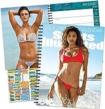 Sports Illustrated Swimsuit Calendar 2020 Bundle - Deluxe 2020 Sports Illustrated Swimsuit Engagement Planner Calendar with Over 100 Calendar Stickers