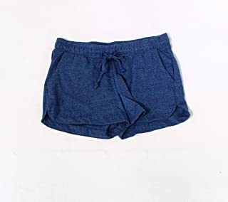 Alternative Blue Womens Size Large L Drawstring Four Pocket Shorts