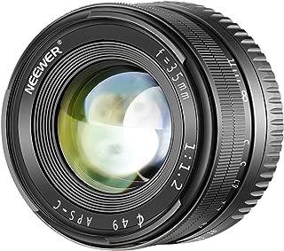 Neewer 35mm F1.2大口径レンズ  Sony Eマウントミラーレスカメラに対応