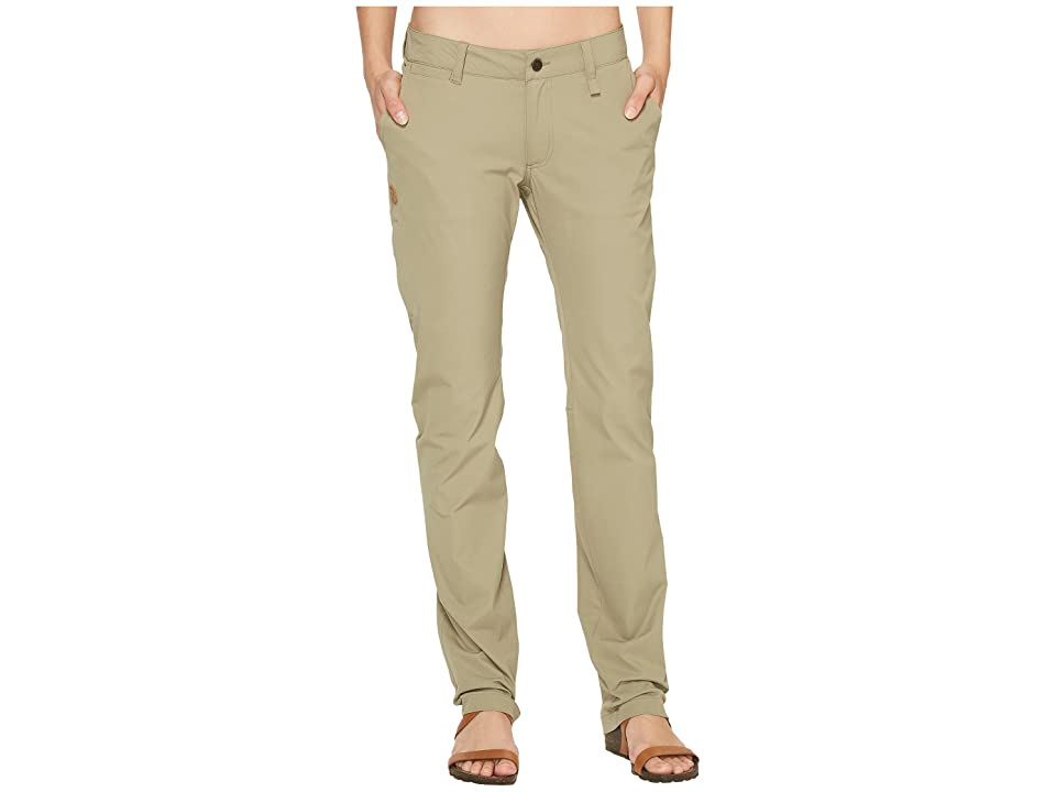 Fjallraven Abisko Stretch Trousers (Savanna) Women