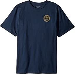 Vans Kids Established 66 Short Sleeve T-Shirt (Big Kids)