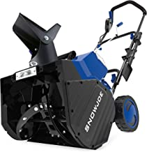 Snow Joe 24V-X2-SB18 18-Inch 48-Volt 4.0-Ah Cordless Snow Blower, Kit (w/2 x 24-Volt 4.0-Ah Batteries and Rapid Charger)
