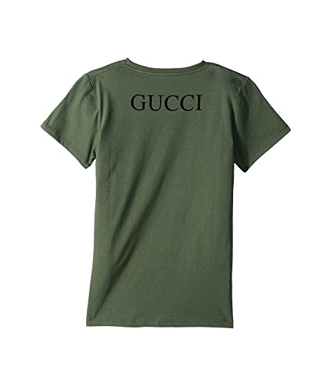 ee69ab878 Gucci Kids Graphic Logo T-Shirt 547559XJAH2 (Little Kids/Big Kids ...