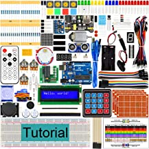 Freenove Ultimate Starter Kit with R3 Board (Compatible with Arduino IDE), 260 Pages Detailed Tutorial, 217 Items, 51 Projects, Solderless Breadboard