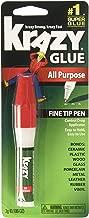 Krazy Glue All Purpose Super Glue Pen, Fine Tip, 3 Grams