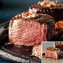 Omaha Steaks Filet Mignon and Top Sirloin Combo (4-Piece)