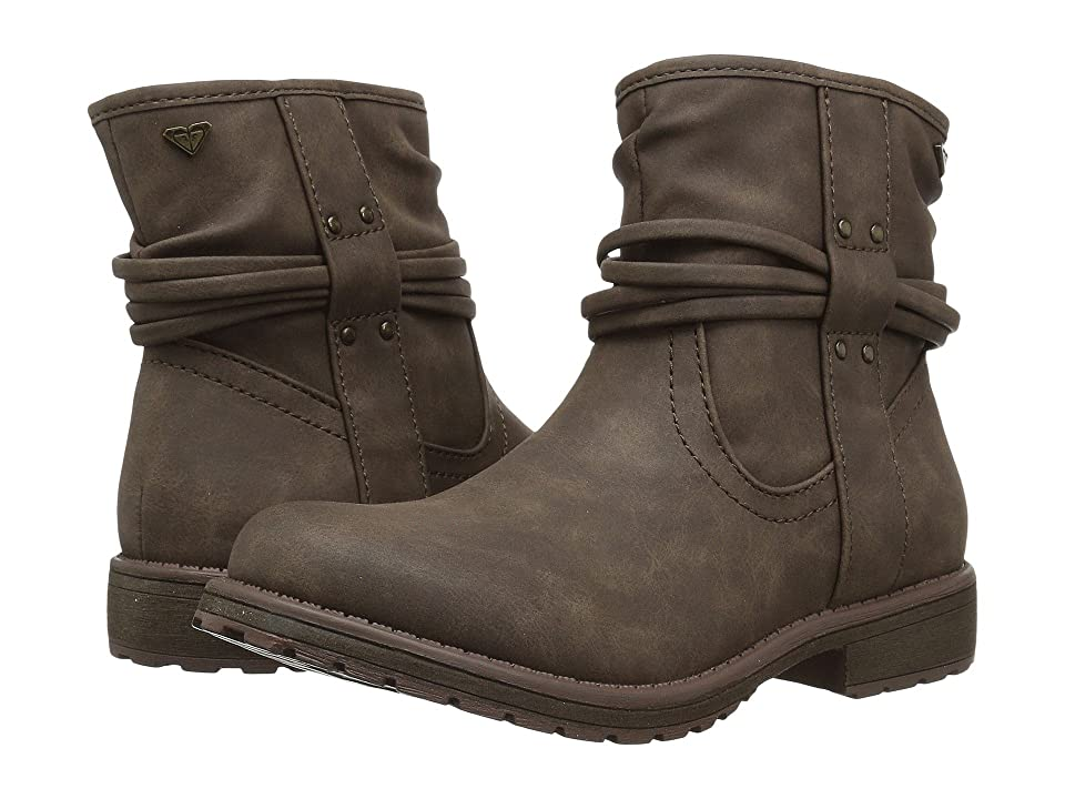 Roxy Kids Aiza (Little Kid/Big Kid) (Chocolate) Girls Shoes