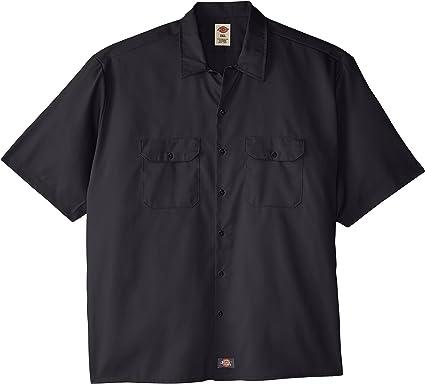 Dickies - - Camisa de la flexión de la tela cruzada trabajo de los hombres