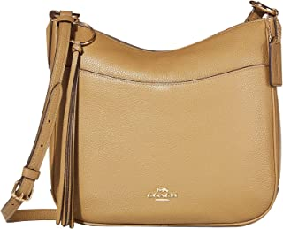 COACH Women's Polished Pebble Leather Chaise Crossbody
