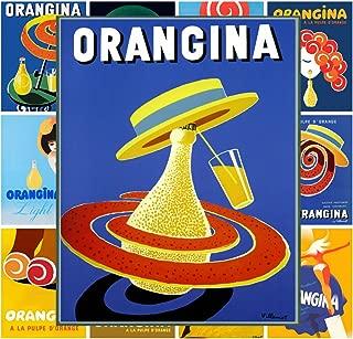 Pixiluv Mini Posters Set [13 Posters 8x11] Vintage Orangina Soda Ads # Posters Reprint