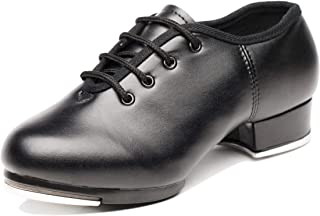 Joocare Child Split Sole Beginner Tap Dance Shoes (Toddler/Little Kid/Big Kid)