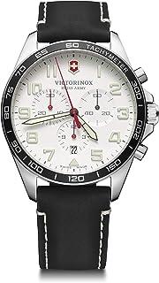 Victorinox - Hombre Field Force Chronograph - Reloj de Acero Inoxidable de Cuarzo analógico de fabricación Suiza 241853