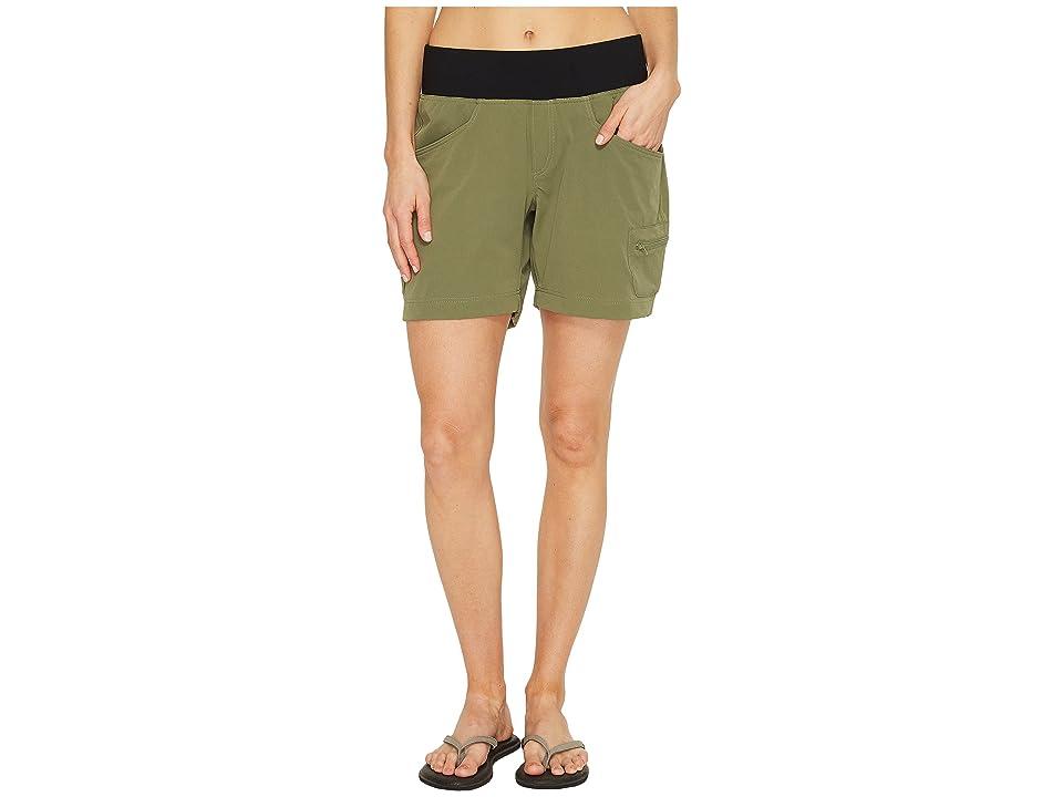Stonewear Designs Dynamic Shorts (Cargo Green) Women's Shorts