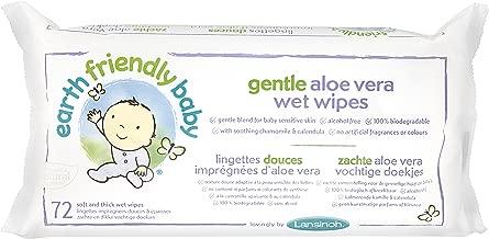 Eco Baby Wipes Organic Chamomile and Calendula 72 Wipes