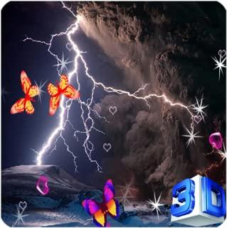 3D Lightning Storm Live Wallpaper