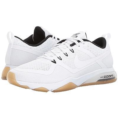 Nike Zoom Training Fitness (White/White/Black/Gum Light Brown) Women