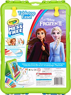Crayola Color Wonder Travel Easel Toy Story 4 Pages with Bonus Pages, Markers and Color Wonder Paint Coloring Travel Books...