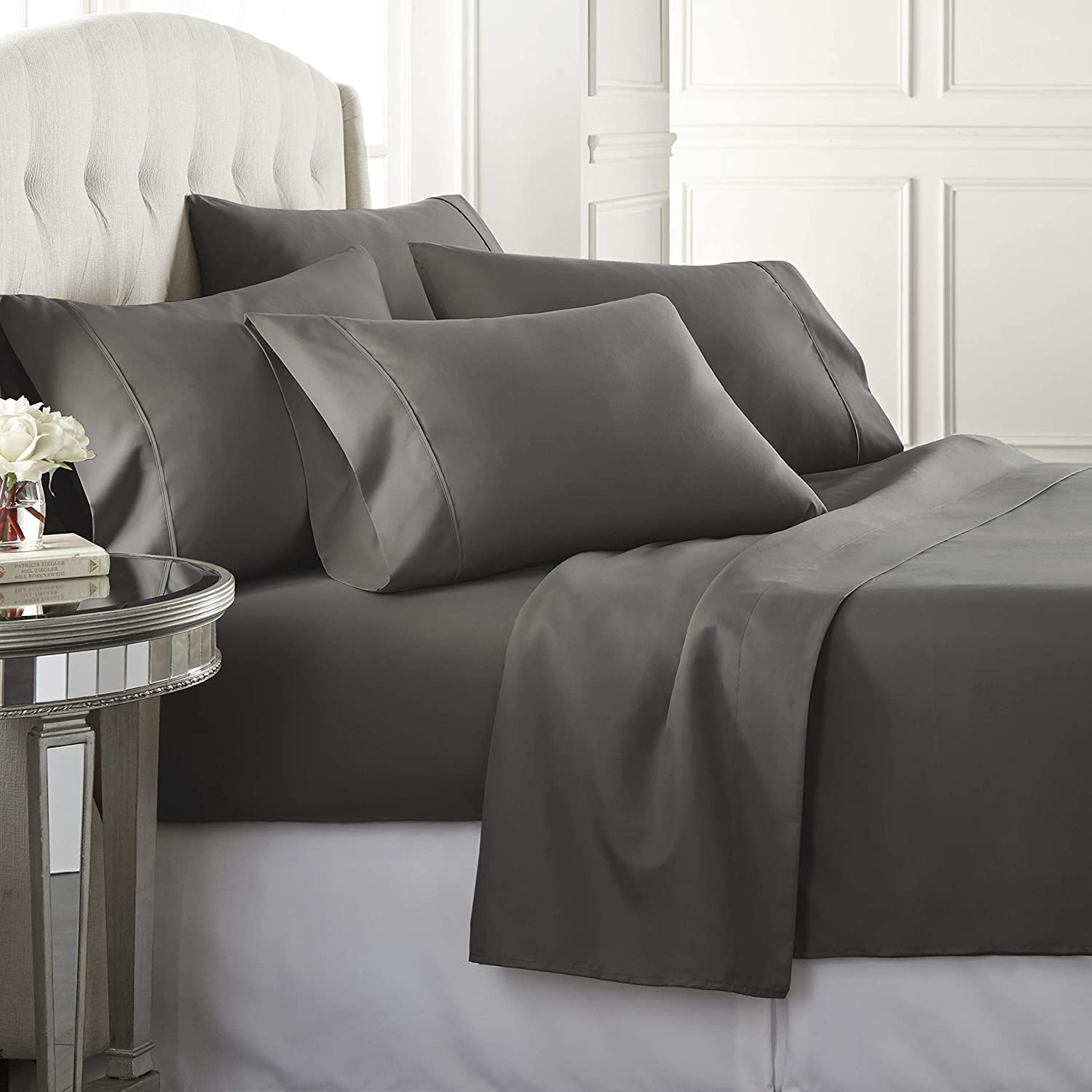 Same day Max 73% OFF shipping Danjor LinensQueenSize Bed Sheets 1800 - Set Series6