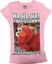 Sesame Street Elmo HA HA Girls T-Shirt Pink