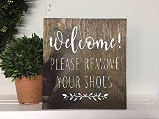 60x40cm Bestauseller Please Remove Your Shoes Remove Shoes Sign Welcome Remove Shoes Housewarming Gift New Home Gift Welco...