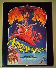 Pressbook~ Arabian Adventure ~1979 ~Christopher Lee ~Mickey Rooney ~Puneet Sira