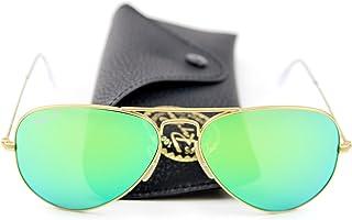 7b940232ec Ray-Ban RB3025 – gafas de sol unisex estilo aviador con espejo polarizadas