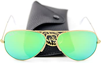 Ray-Ban RB3025 Unisex Aviator Sunglasses Mirrored Polarized
