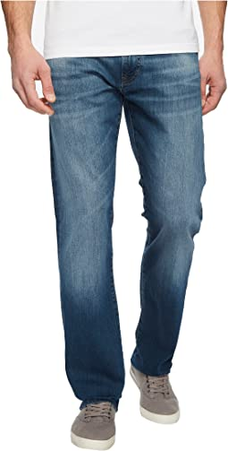 Mavi Jeans - Zach Regular Rise Straight Leg in Mid Shaded Williamsburg
