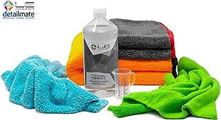 Liquid Elements Detailmate Mikrofasertuch Set Orange Baby XL Trockentuch 60x90, Biliteral Innenreinigung 40x40, Waxer Allrounder 40x40, Peppermint 40x40, Mikrofaserwaschmittel 0,5L, Messbecher 50ml