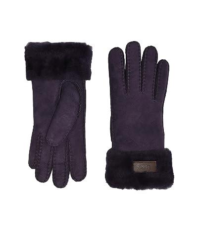 UGG Turn Cuff Water Resistant Sheepskin Gloves (Nightshade) Extreme Cold Weather Gloves